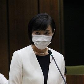 2020年第3回定例会 沢田あゆみ議員が一般質問を行いました